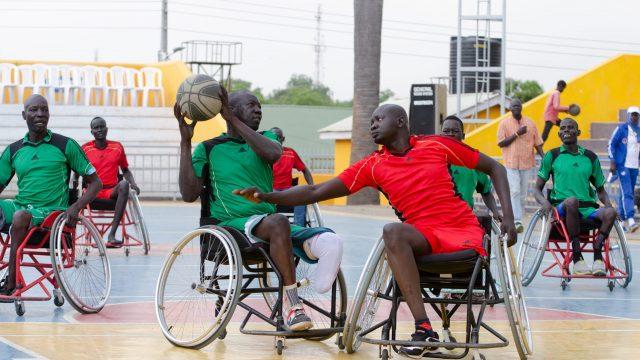 JICA_南スーダン_車いすバスケ