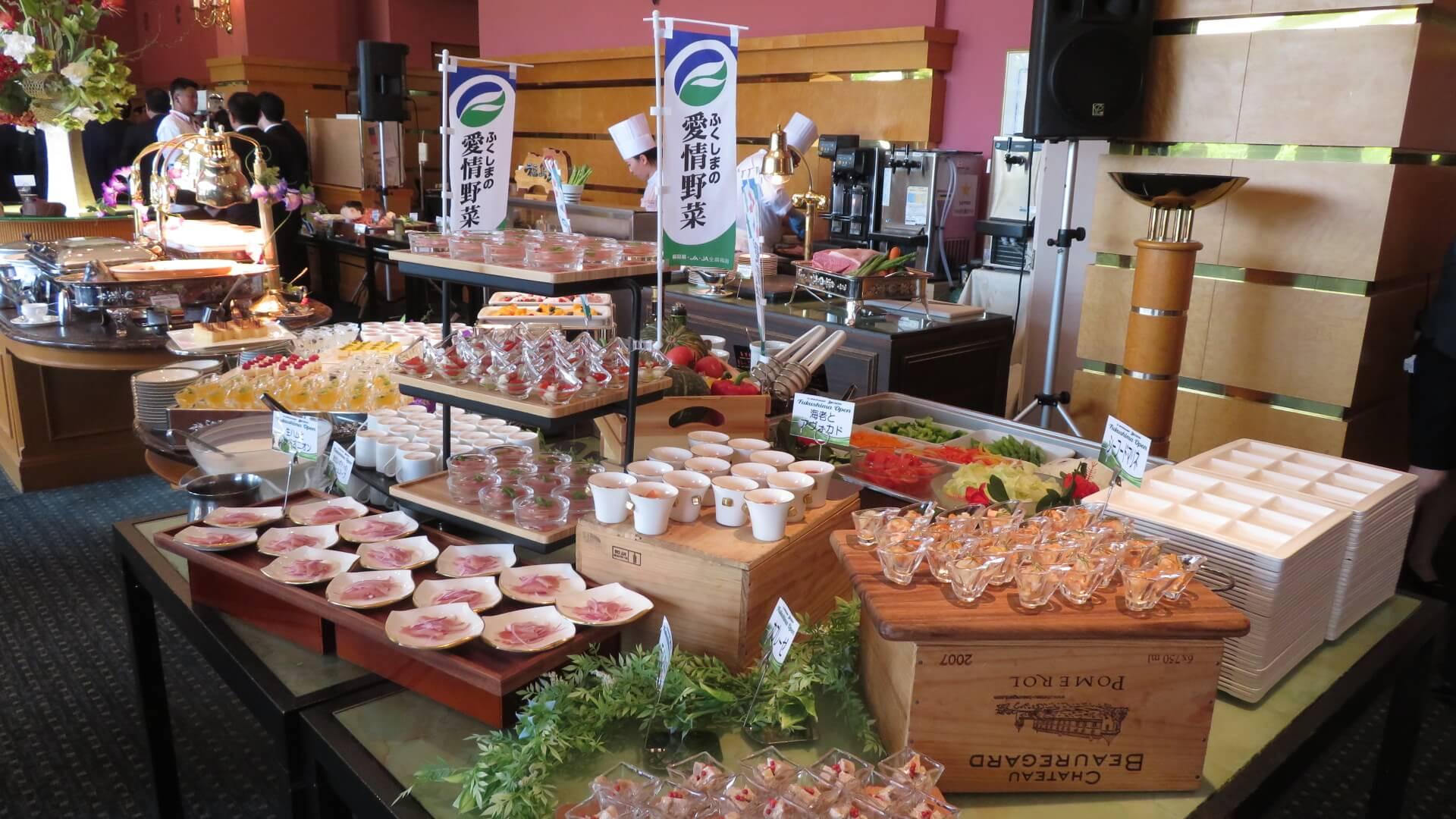 ダンロップ・スリクソン福島オープン‗食材の写真1