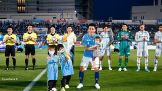 横浜FC 試合前セレモニー